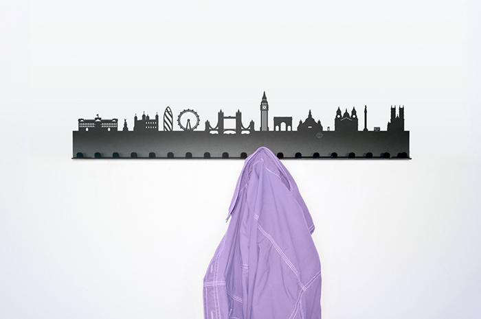 City Coat Rack London 709i