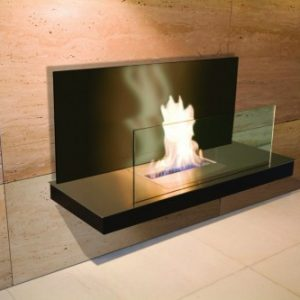 black eco smart fireplace designer - Ambience Eco Fires