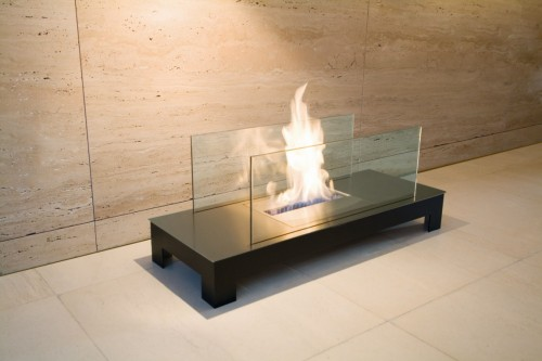 Inside fireplace designer portable - Ambience Eco Fires