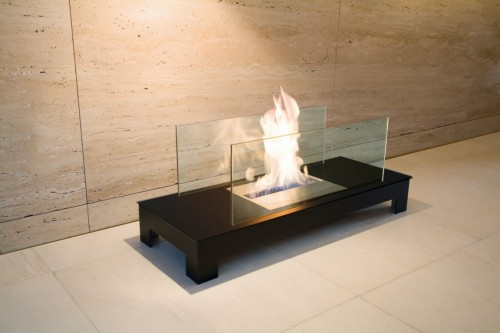 high flame series eco friendly fireplace - Ambience Eco Fires