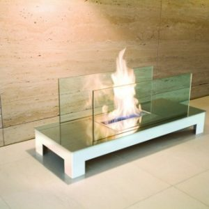 inside fireplace - Ambience Eco Fires