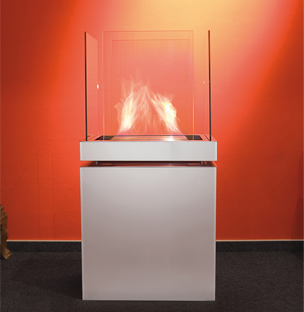 Centre piece fireplace eco friendly - Ambience Eco Fires