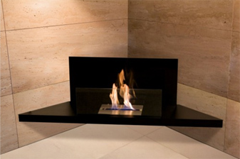 Corner Flame - Bioethanol Fires - Ambience Eco Fires