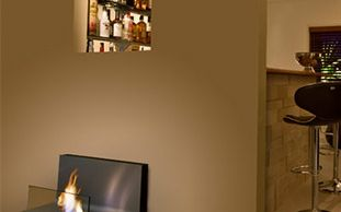 Wall-mounted fireplaces: why bioethanol fires are  the clear winners