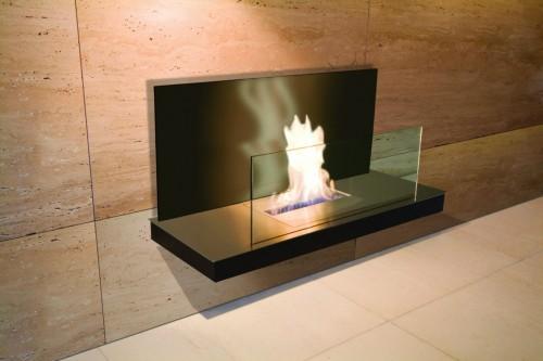 black eco smart fireplace designer - Ambience Eco Fires