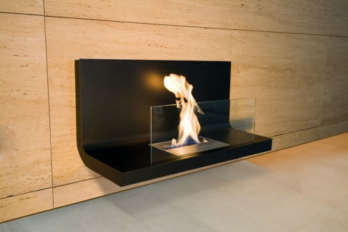 wall mounted fireplace eco friendly designer - Ambience Eco Fires