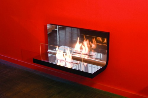Inside fireplace designer bioethanol - Ambience Eco Fires